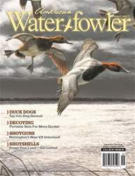 American Waterfowler Magazine Cover