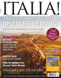 Italia! Magazine Cover