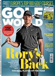 Golf World Magazine Cover