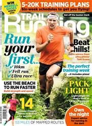 Trail Running Magazine Cover