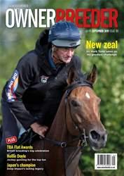 Thoroughbred Owner Breeder Magazine Cover