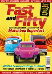 Fast & Fifty Magazine Cover
