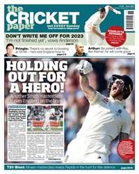 The Cricket Paper Magazine Cover