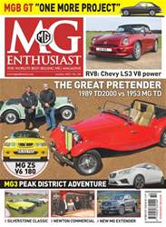 MG Enthusiast Magazine Cover