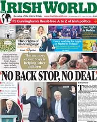 Irish World Magazine Cover