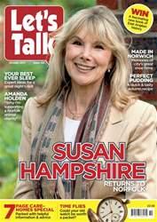 Let's Talk Magazine Cover