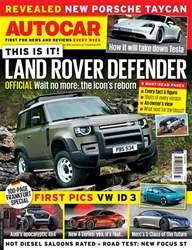 Autocar Magazine Cover