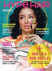 Hype Hair Magazine Cover
