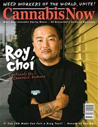 Cannabis Now Magazine Cover