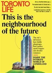 Toronto Life Magazine Cover