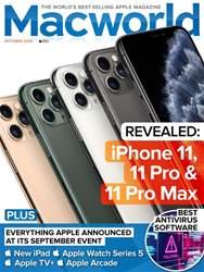 Macworld UK Magazine Cover