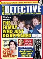 Master Detective Magazine Cover