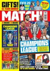 Match Magazine Cover