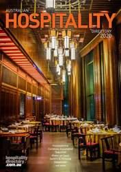 Australian Hospitality Directory Magazine Cover