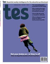 TES Magazine Cover