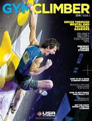 Gym Climber Magazine Cover