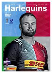 Harlequins Magazine Cover