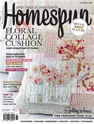 Homespun Magazine Cover