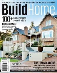 Build Home Victoria Magazine Cover