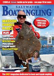 Saltwater Boat Angling Magazine Cover