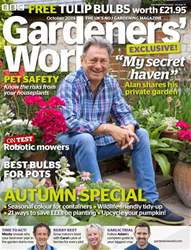 BBC Gardeners' World Magazine Magazine Cover