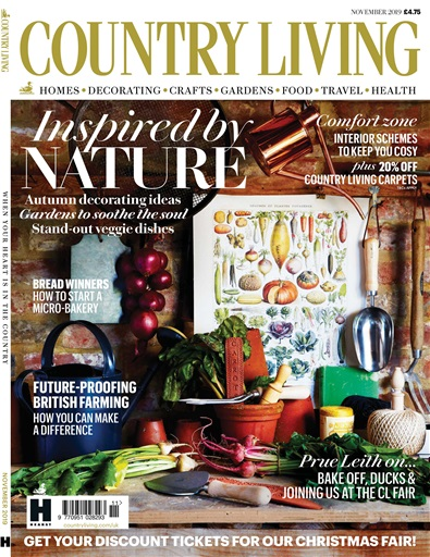 Country Living Magazine Nov 2019 Subscriptions Pocketmags