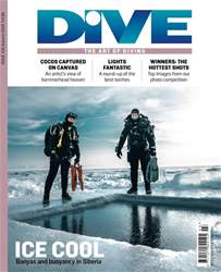 DIVE Magazine Cover
