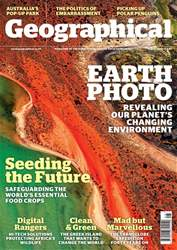 Geographical Magazine Cover