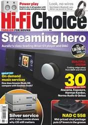 Hi-Fi Choice Magazine Cover