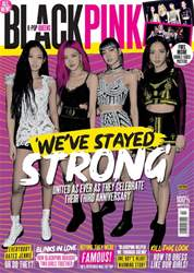 K-Pop Superstars Magazine Cover
