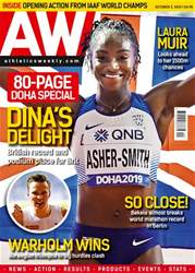 AW - The best coverage of the No.1 Olympic sport Magazine Cover