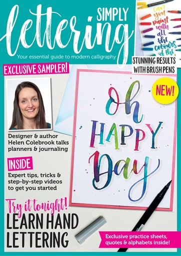 Simply Lettering Preview