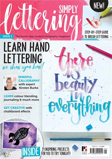 Simply Lettering 01 Cover