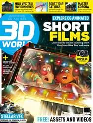 3D World Magazine Cover