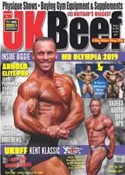 UK Beef Magazine Magazine Cover
