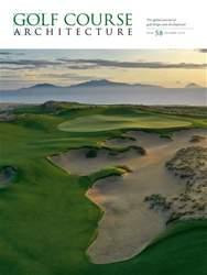 Golf Course Architecture Magazine Cover