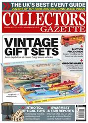 Collectors Gazette Magazine Cover
