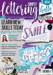 Simply Lettering Magazine Cover