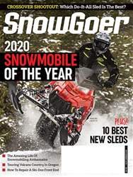 SnowGoer Magazine Cover
