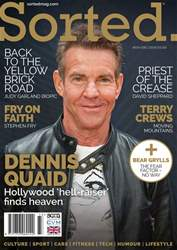 Sorted Magazine – The men's mag with morals Magazine Cover