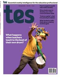 TES Magazine Cover