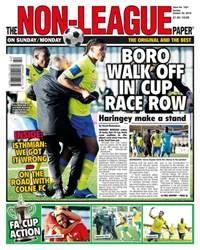 The Non-League Football Paper Magazine Cover