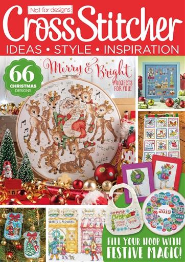 December 2019 Just Cross Stitch Magazine