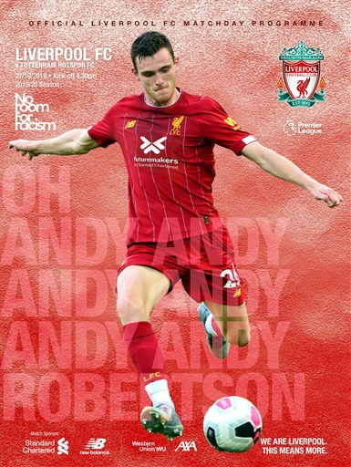 Liverpool FC Programmes Preview