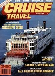Cruise Travel Magazine Cover