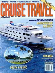 Cruise Travel Magazine Cover