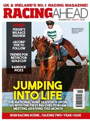 Racing Ahead Magazine Cover