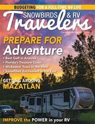 Snowbirds & RV Travelers Magazine Cover