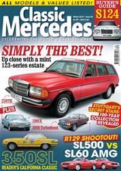 Mercedes Enthusiast Magazine Cover