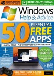 Windows Help & Advice Magazine Cover